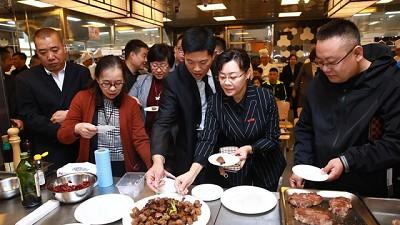 La carne argentina fue ovacionada en Beijing