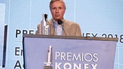 Los sueños son posibles expreso Gerardo Bartolomé, ganador del Premio Konex de Platino