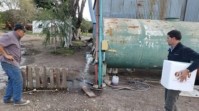 Según un estudio, el agua de Pergamino es apta para consumo