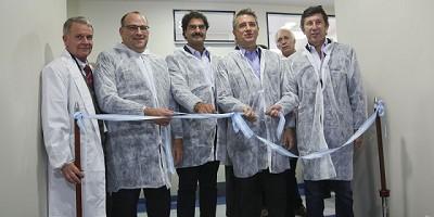 Agroindustria inauguró la primera etapa del nuevo Laboratorio Vegetal del Senasa