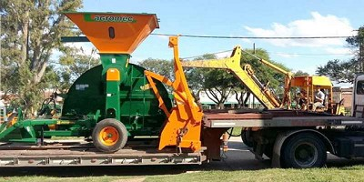 Agromec sigue exportando embolsadoras a Australia