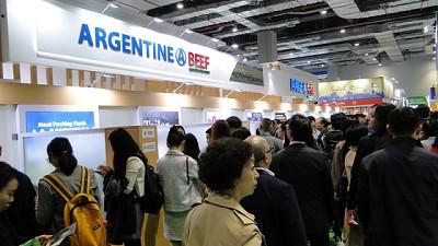 La Carne Argentina es la gran vedette en China