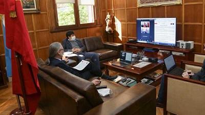 Basterra se reunió con el embajador de la República Popular China