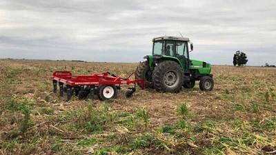 Agro Seri avanza con el sistema BES de control mecánico de malezas