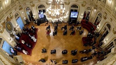 Cumbre de la oposición por la reforma judicial