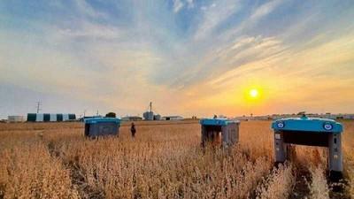 Google presenta prototipos de robots para mejorar el rendimiento de los cultivos