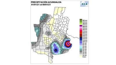 Las lluvias más importantes para el sur – CCA/Agrositio