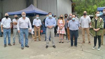 Basterra, Arroyo y Mussi recorrieron la feria itinerante de Berazategui