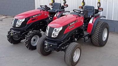Apache presentó los nuevos tractores Solís 26 GT