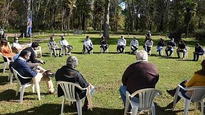 El ministro Javier Rodríguez presentó los programas vigentes a productores de Maipú y General Alvarado