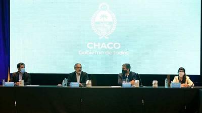 Basterra y Capitanich participaron de la Mesa Nacional Algodonera