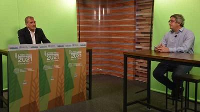 El ministro Rodríguez destacó las buenas perspectivas para la producción de trigo, luego de que en 2020 alcanzara un récord en 20 años