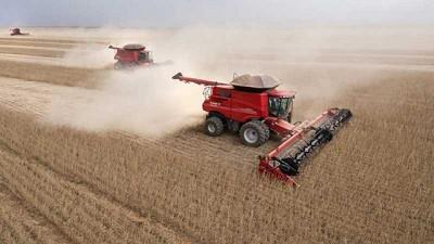 Las cosechadoras piensan en grande