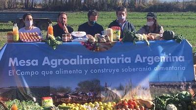 Se lanzó la Mesa Agroalimentaria Argentina