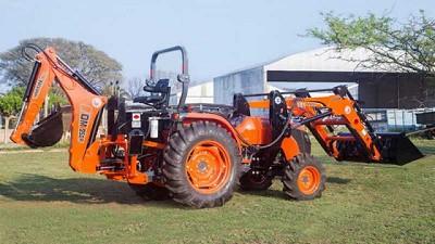 Kubota le da más poder al tractor MX5100