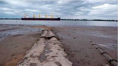 ¿Cómo afecta la pronunciada bajante del Paraná a la actividad marítima?