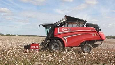 Premian a la cosechadora de algodón de Dolbi por su innovación