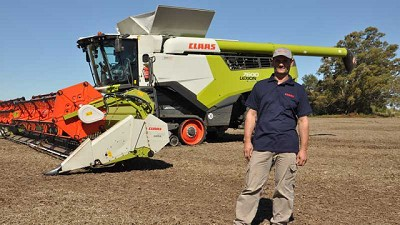 Cómo es cosechar con la máxima tecnología según los Ugrotte