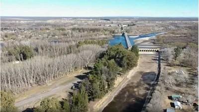 Impresionante sequía: así se ve el Río Neuquén desde el drone