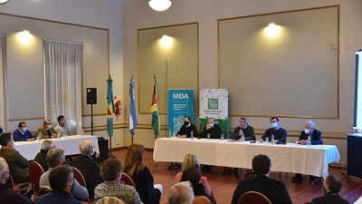 Se presentaron los avances del Plan Bonaerense de Desarrollo Rural en la región sudoeste de la Provincia