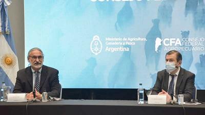 Basterra y las autoridades de las 10 provincias del Norte Grande avanzaron en la construcción del Plan Ganadero Federal