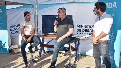 Rodríguez presentó la plataforma web de Mercados Bonaerenses